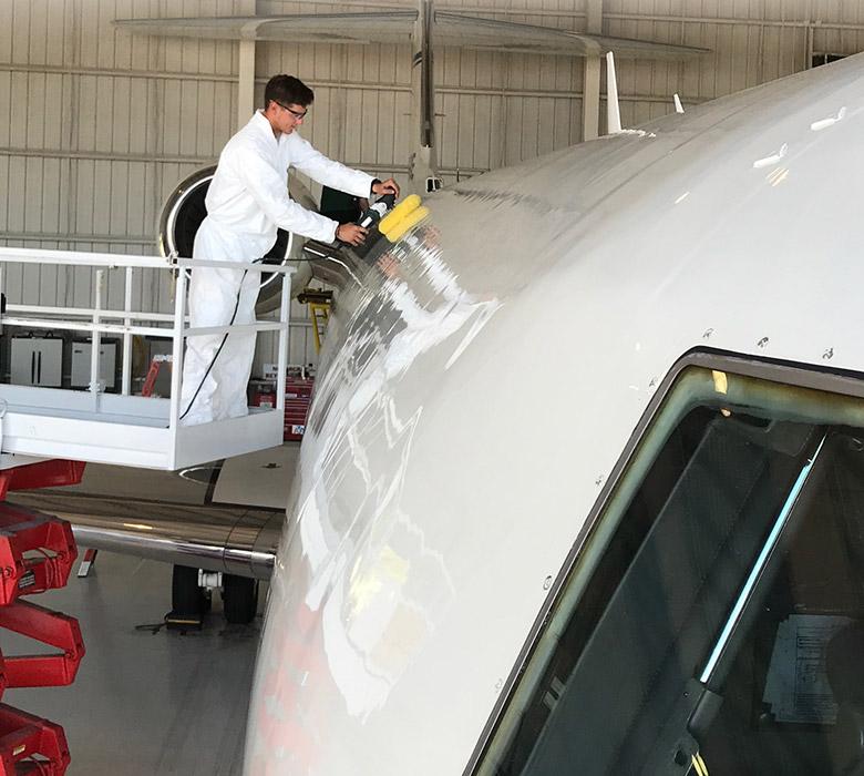 Tampa Aircraft Detailing Aircraft Cleaning Tampa Fl